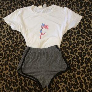 1980s Olympic's shirt